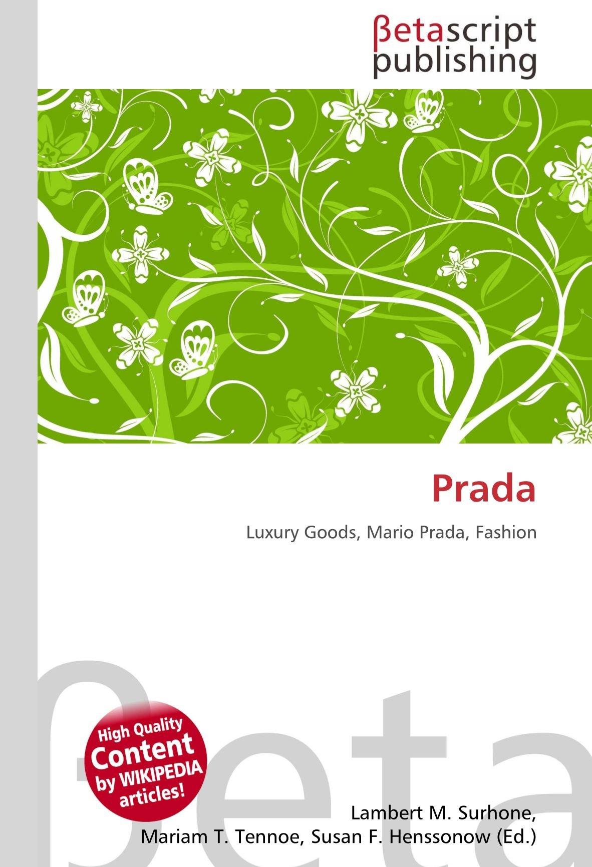 Amazon.it: Prada: Luxury Goods, Mario Prada, Fashion
