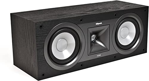Klipsch KC-25 Icon 5-1 4-Inch Center Speaker Black Ash