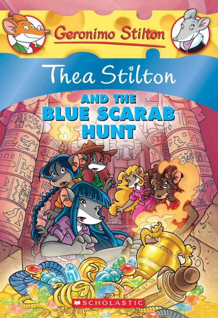 [Thea Stilton and the Blue Scarab Hunt: A Geronimo Stilton Adventure] (By: Thea Stilton) [published: September, 2012] pdf epub