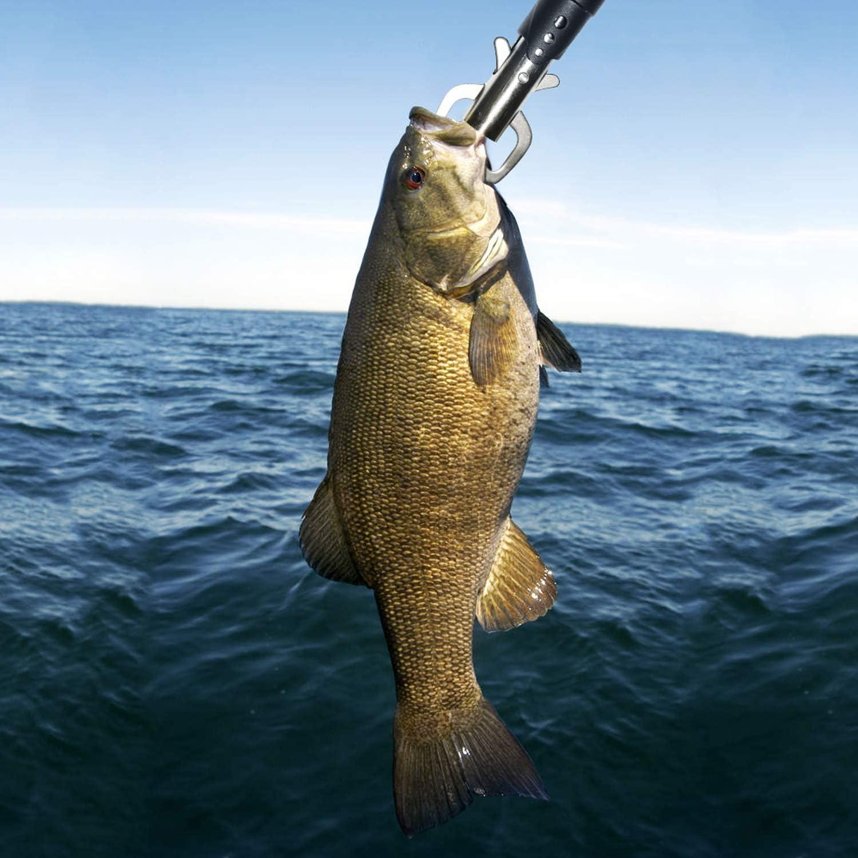 SF Fischgriff-Halter aus Edelstahl mit Handschlaufe