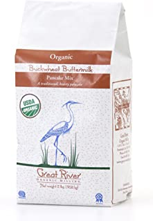 product image for Great River Organic Milling Organic Buckwheat Buttermilk Pancake Mix 2 pounds (pack of 4)
