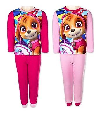 17d8461eca4a9 Pyjama Polaire Paw Patrol Fille - 2 à 6 Ans  Amazon.fr  Vêtements et  accessoires