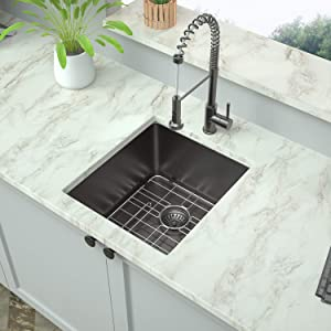 15 Inch Undermount Kitchen Sink - Mocoloo 15