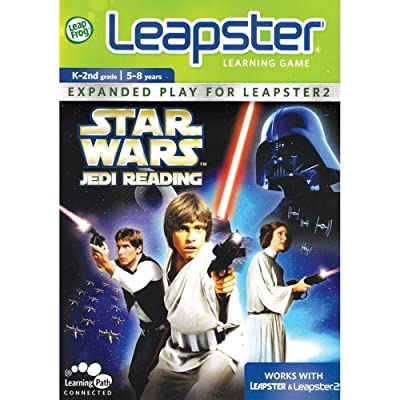 LeapFrog Leapster Learning Game Star Wars Jedi Reading: Toys & Games