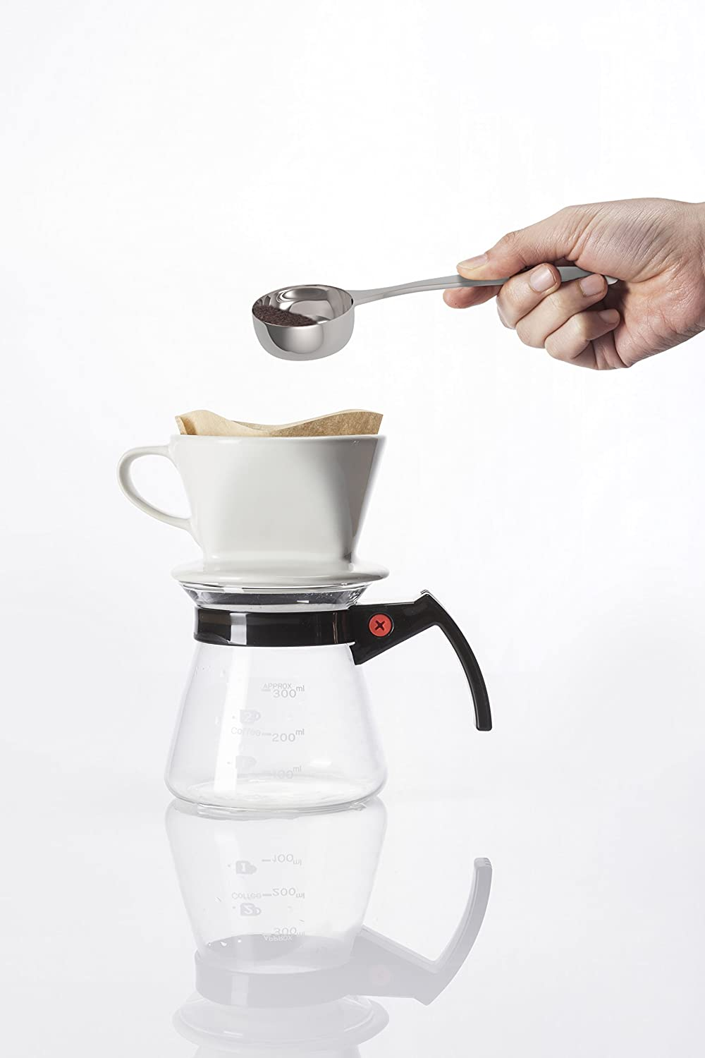 Zeppoli Coffee Scoop - 1.5 Tablespoon Exact - Stainless Steel Measuring Spoon - Great for Measuring Coffee, Protein Powder, Spices and More - Perfect for Coffee Enthusiasts Equinox International SYNCHKG068601