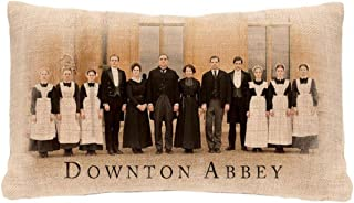 "product image for Heritage Lace 20"" Downton Abbey Downstairs Cast Rectangular Throw Pillow - Polyester"