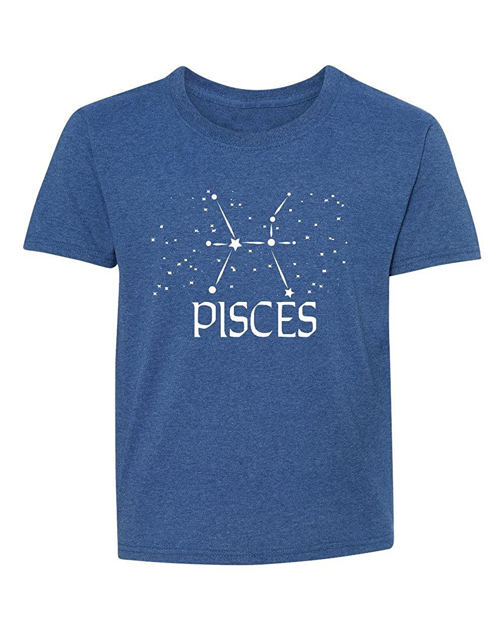 Marky G apparel Boys Pisces Zodiac T-Shirt