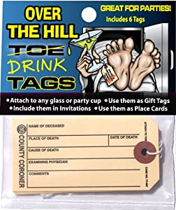 Hollywood Effects Over The Hill Toe/Drink Tags