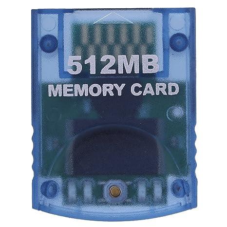 Tarjeta de memoria para Nintendo Wii y Gamecube NGC de 512 ...