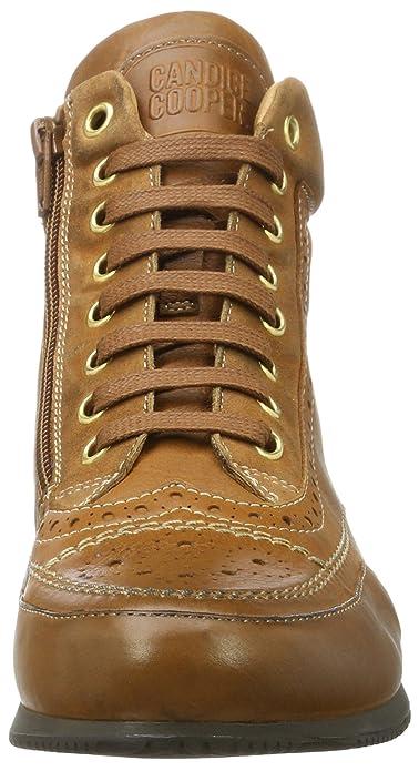 Candice Cooper Glove, Sneaker a Collo Alto Donna, Braun (Cuoio), 39 EU