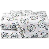 Piper Kids' Flannel Bedsheet Sets Twin (Aqua)