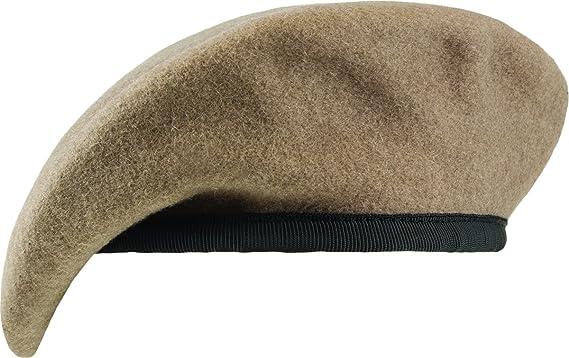 f137060b46453 Amazon.com  Unlined Beret with Nylon Sweatband  Clothing