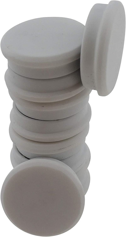 bianco RIKAMA colore Lavagna magnetica con 25 calamite