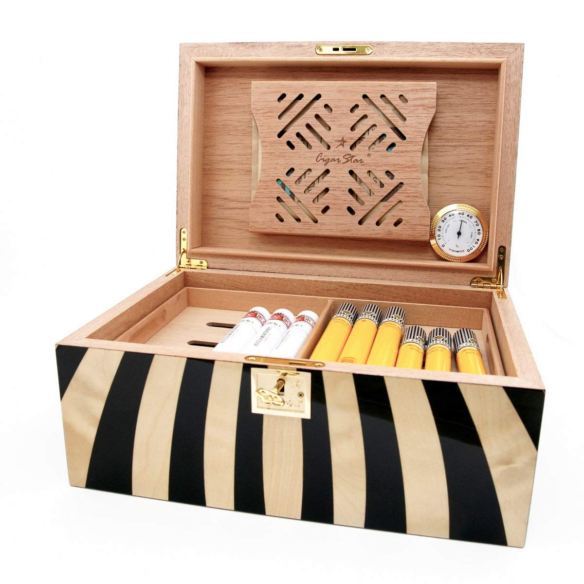 Cigar Star Boketto Humidor Limited Edition Optical Illusion Made from Wood! by Cigar Star (Image #8)