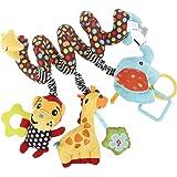 YeahiBaby Spirale Bed passeggino giocattolo bambino infantile attività educativa del giocattolo della peluche scimmia elefante giocattolo della peluche