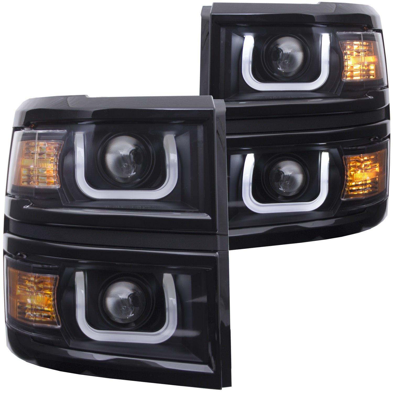Anzousa 111302 Headlight Assembly Automotive 2015 Silverado Fog Light Wiring Harness
