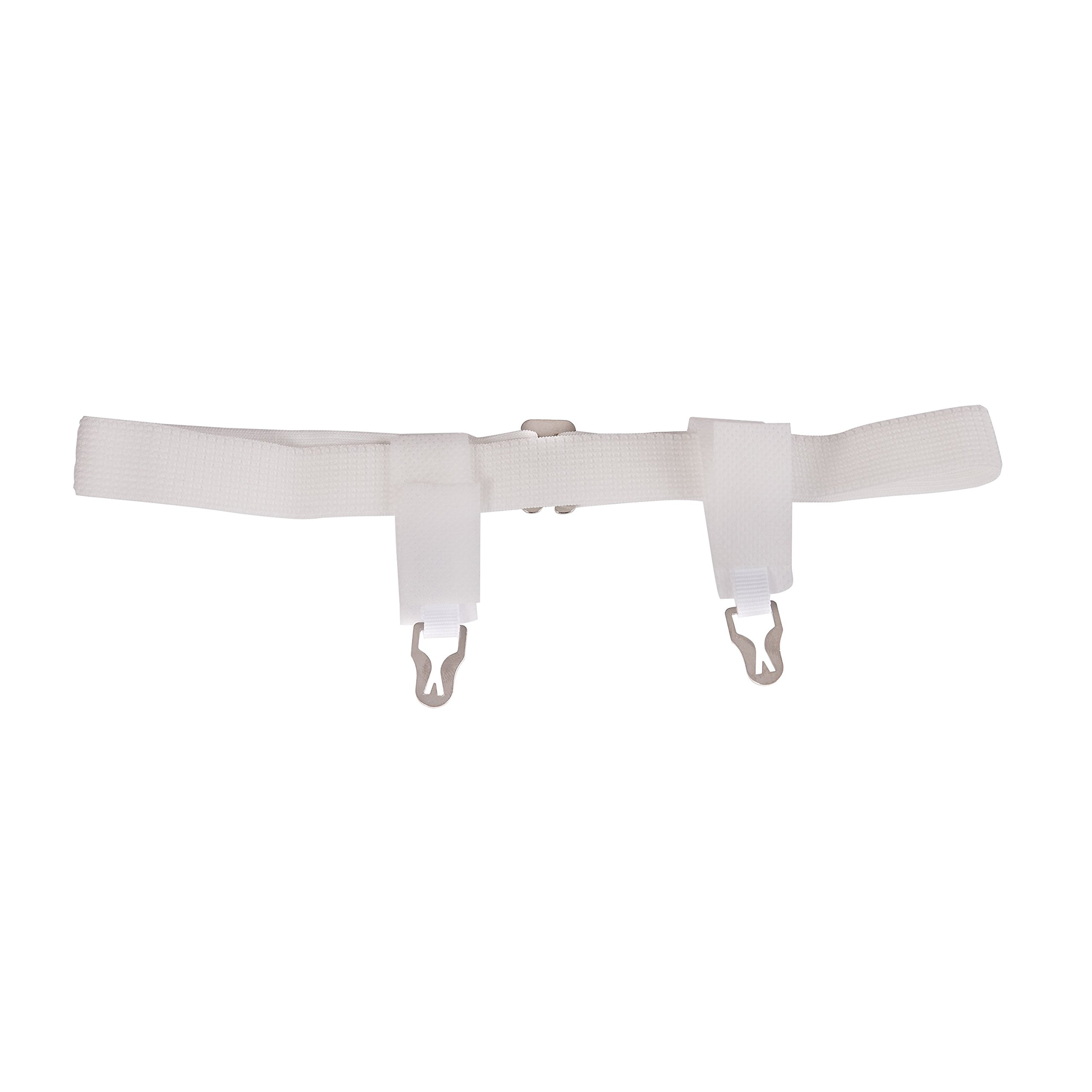 DMI Sanitary Belts with Adjustable Hook and Eye Closure, 22 to 42 Inches, White, 6 Dozen