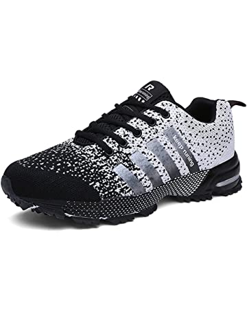 bca8d6db9168 KUBUA Mens Running Shoes Trail Fashion Sneakers Tennis Sports Casual  Walking Athletic Fitness Indoor and Outdoor