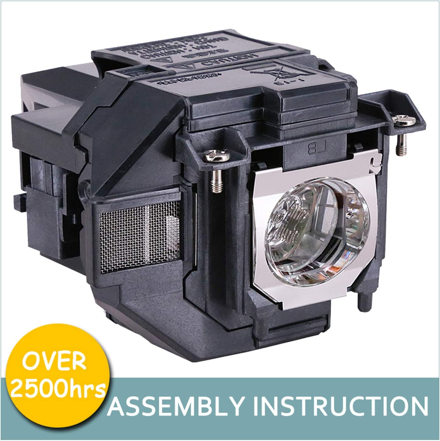 Amazing Quality Amazing Lamps ELPLP96 // V13H010L96 Replacement Lamp in Housing for Epson Projectors: VS250 VS350 VS355