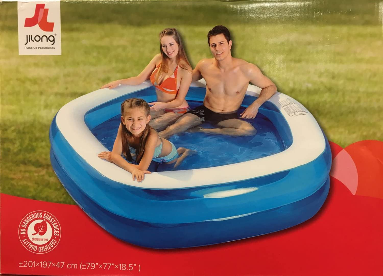 Piscina hinchable Familiar Octogonal 201 cm x 197 cm x 47 cm ...