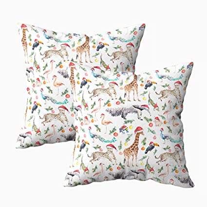 Tiger Family Print Cushion Cover  Home Décor Living Room Sofa Pillow Case Throw