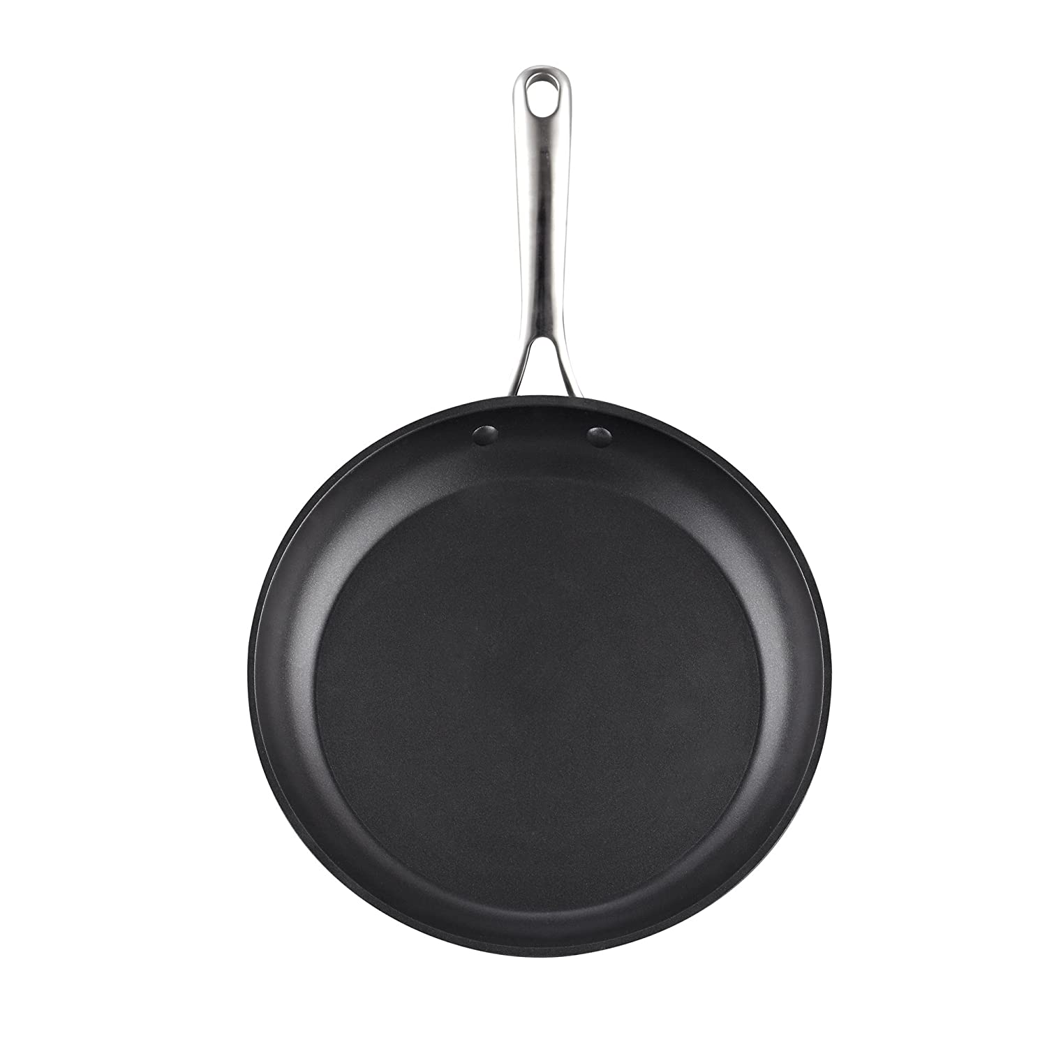 Cooks Standard 02569 8-Inch//20cm Nonstick Hard Black Anodized Fry Saute Omelet Pan 8-inch,