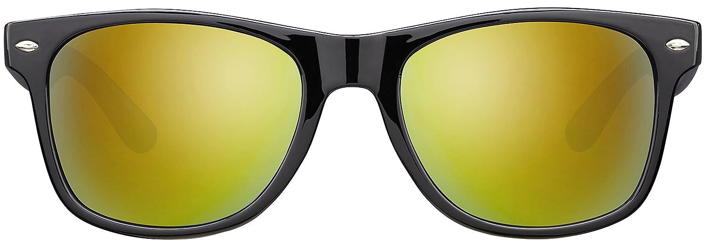 La Optica Original UV400 CAT 3 Unisex Sonnenbrille Einzel-//Doppelpacks Verspiegelt Farben