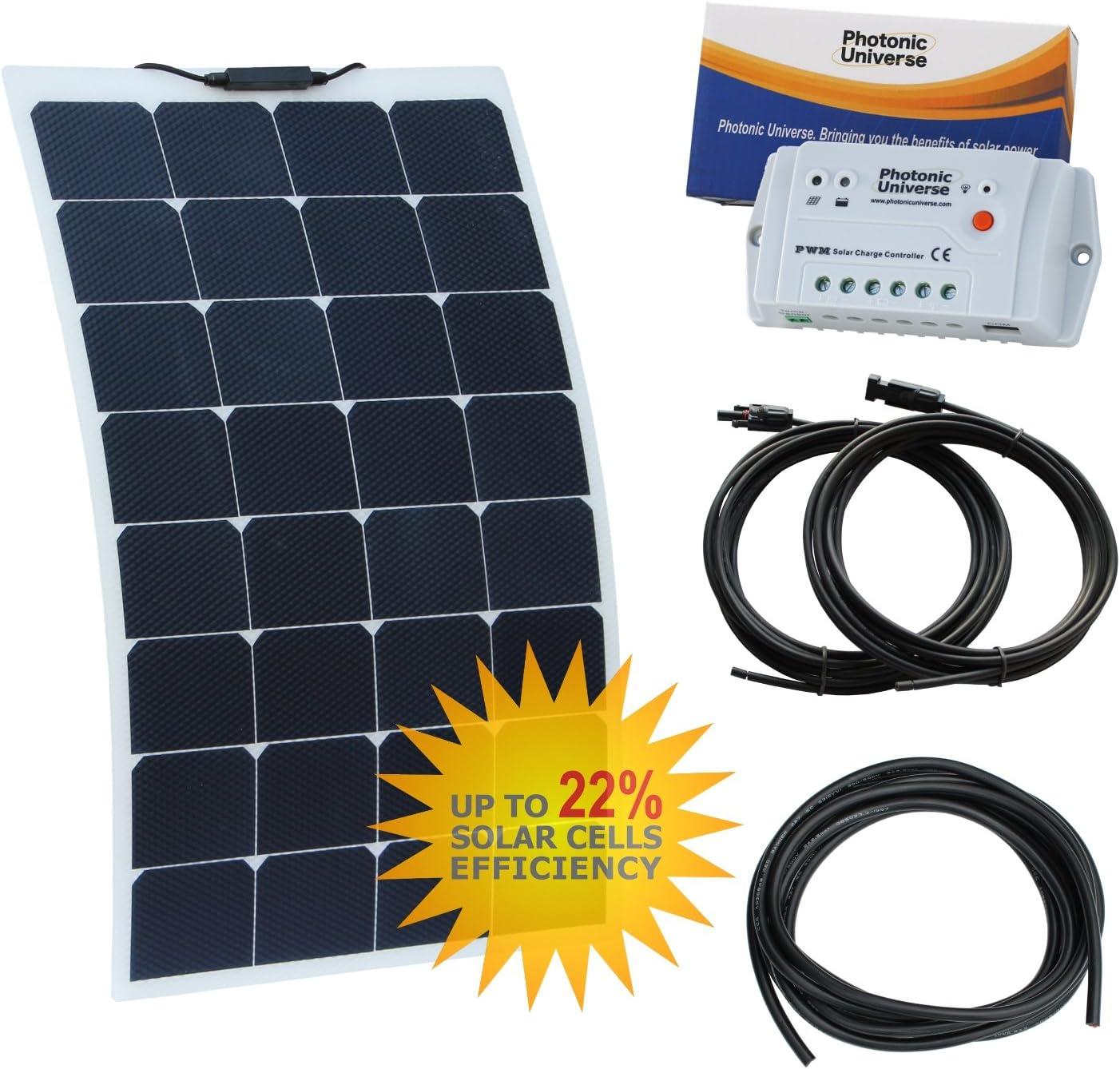 80 W 12 V flexible Durable ETFE Panel Solar fabricado de Back ...