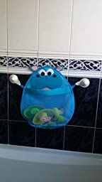 Hurley Hippo Bath Toy Storage Organiser Blue Amazon Co