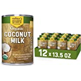 Organic Coconut Milk by Nature's Greatest Foods - 13.5 Oz - No Guar Gum, No Preservatives – Gluten Free, Vegan and Kosher - 1