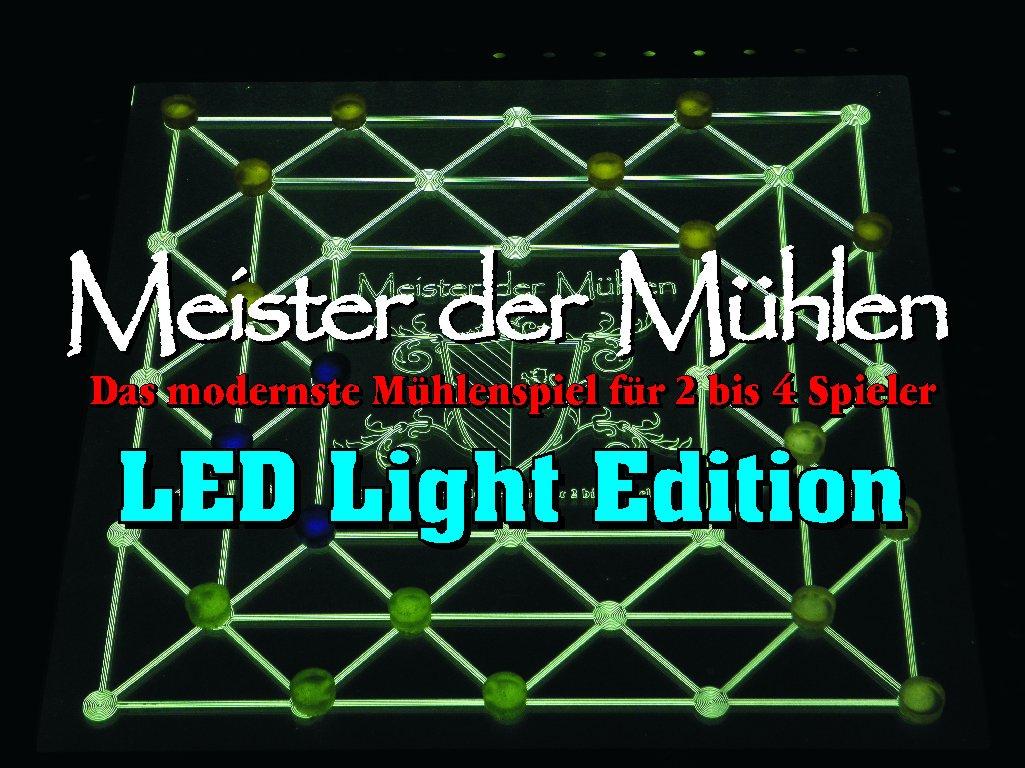 Meister der Mühlen - LED Light Edition (beleuchtet) 38x38 cm