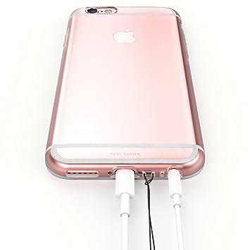 """0d678d897f iPhone6s ケース / iPhone6 ケース 両対応 """"KINTA"""" 日本製 エラストマー クリアケース 耐"""