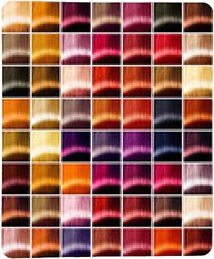 alfombrilla de ratón el pelo de colores de la paleta. Tintes ...