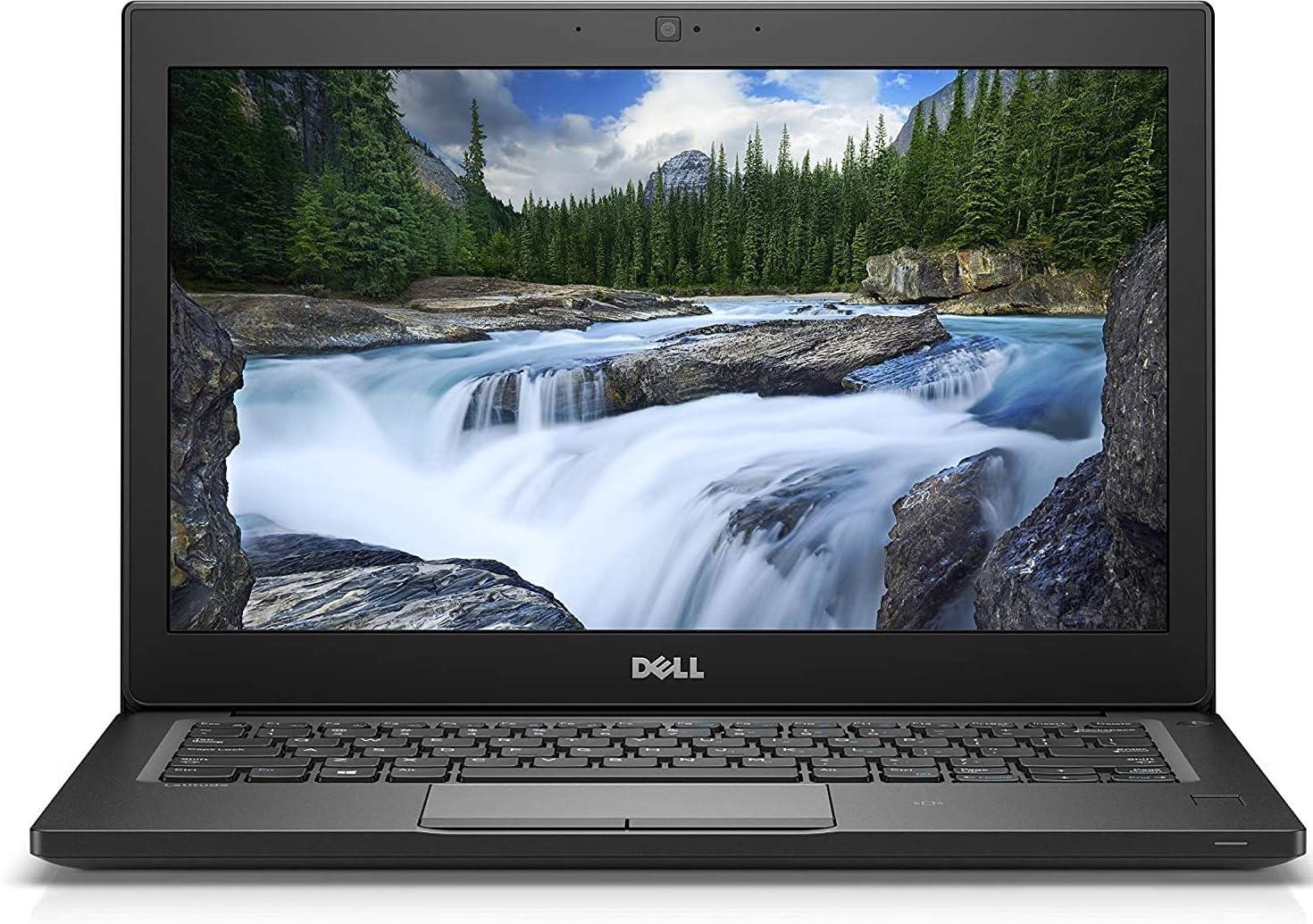 "Dell Latitude 7290 12.5"" HD Business Laptop, Intel Core i5-8350U, 256GB SSD, 16GB DDR4, Webcam, Bluetooth, Windows 10 Pro (Renewed)"