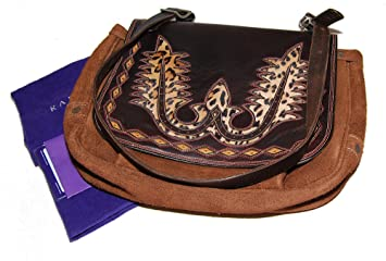 229d935f2c72 Image Unavailable. Image not available for. Color  Ralph Lauren Purple  Label Polo Mens Western Suede Leather Messenger Bag ...