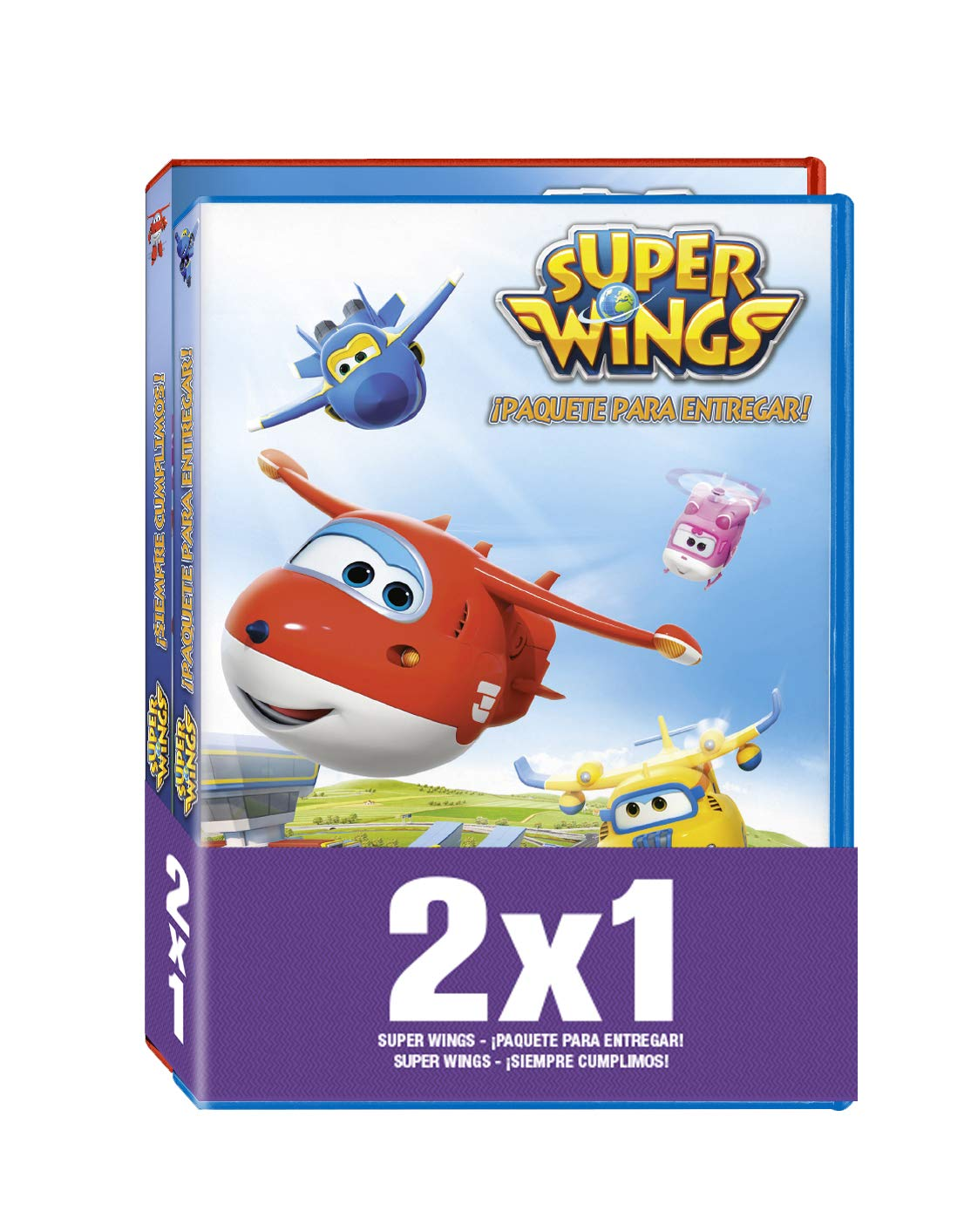 Pack - Super Wings: ¡Paquete Para Entregar! / ¡Siempre Cumplimos! DVD: Amazon.es: Benjie Randall: Cine y Series TV