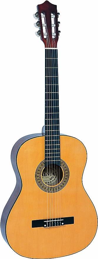 Palma PL44 - Guitarra clásica (tamaño 4/4), color natural: Amazon ...