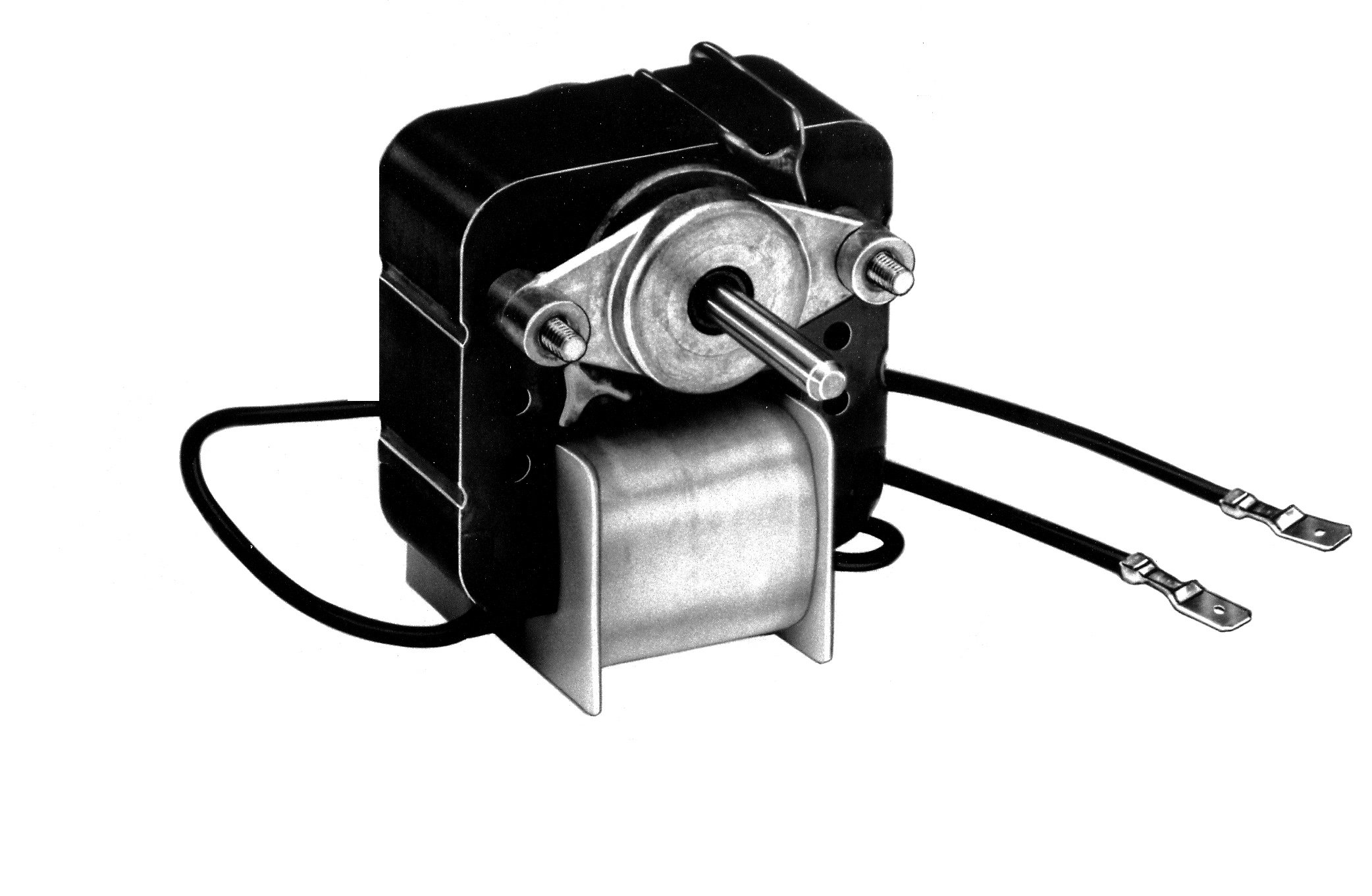 Fasco K161 C Frame Open K Line Shaded Pole OEM Replacement Electric Motor with Sleeve Bearing, 1/50HP, 3000rpm, 115VAC, 60Hz, 0.9 amps, For Icemaker