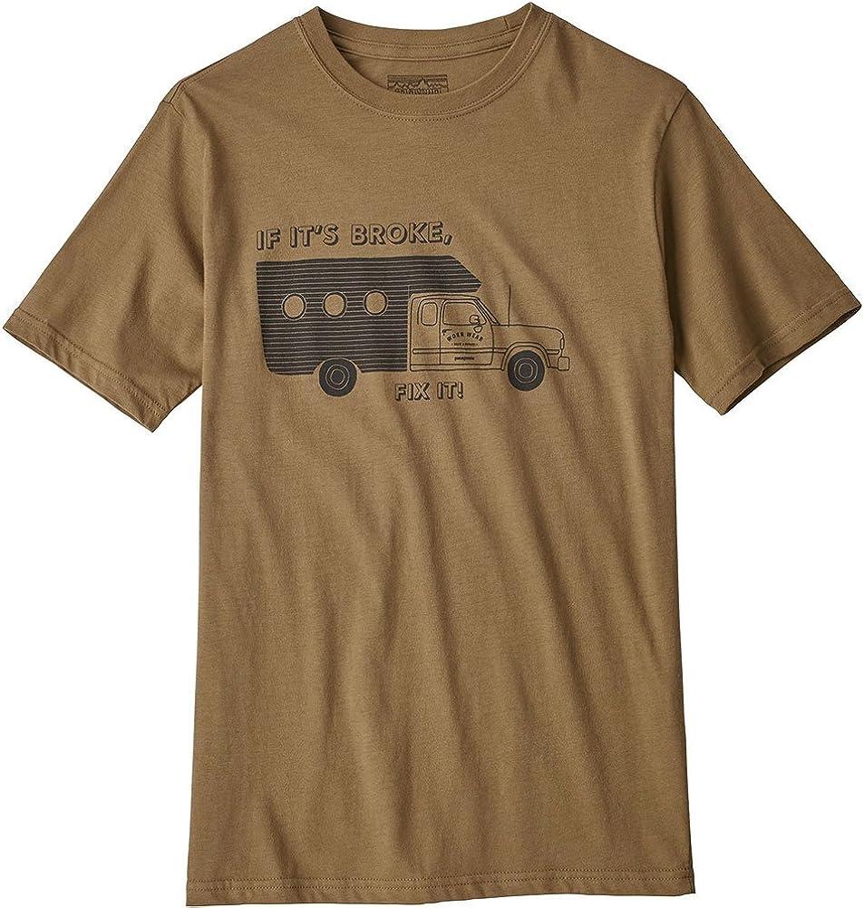 Patagonia Boys Graphic Organic T-Shirt Maglietta Bambino
