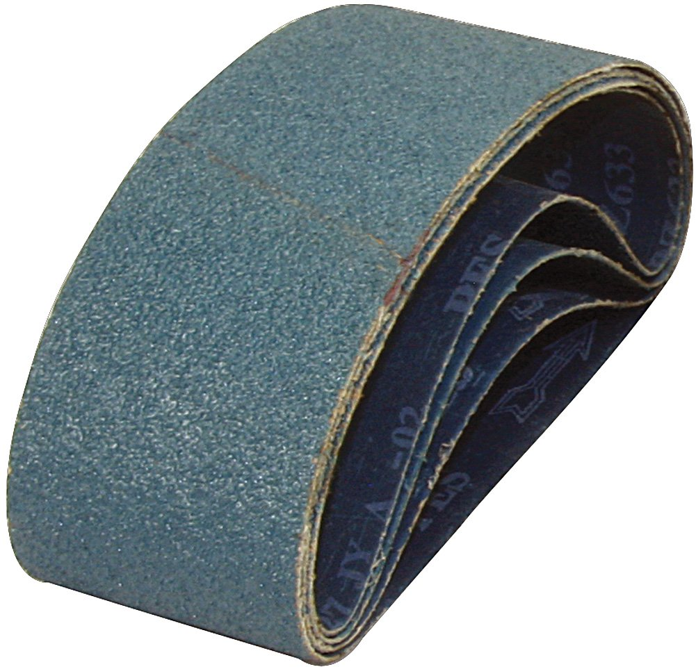 A&H Abrasives™ 4' X 36' Zirconia Alumina Resin-Bond Sander Belts, (y-Weight) Cloth Backing