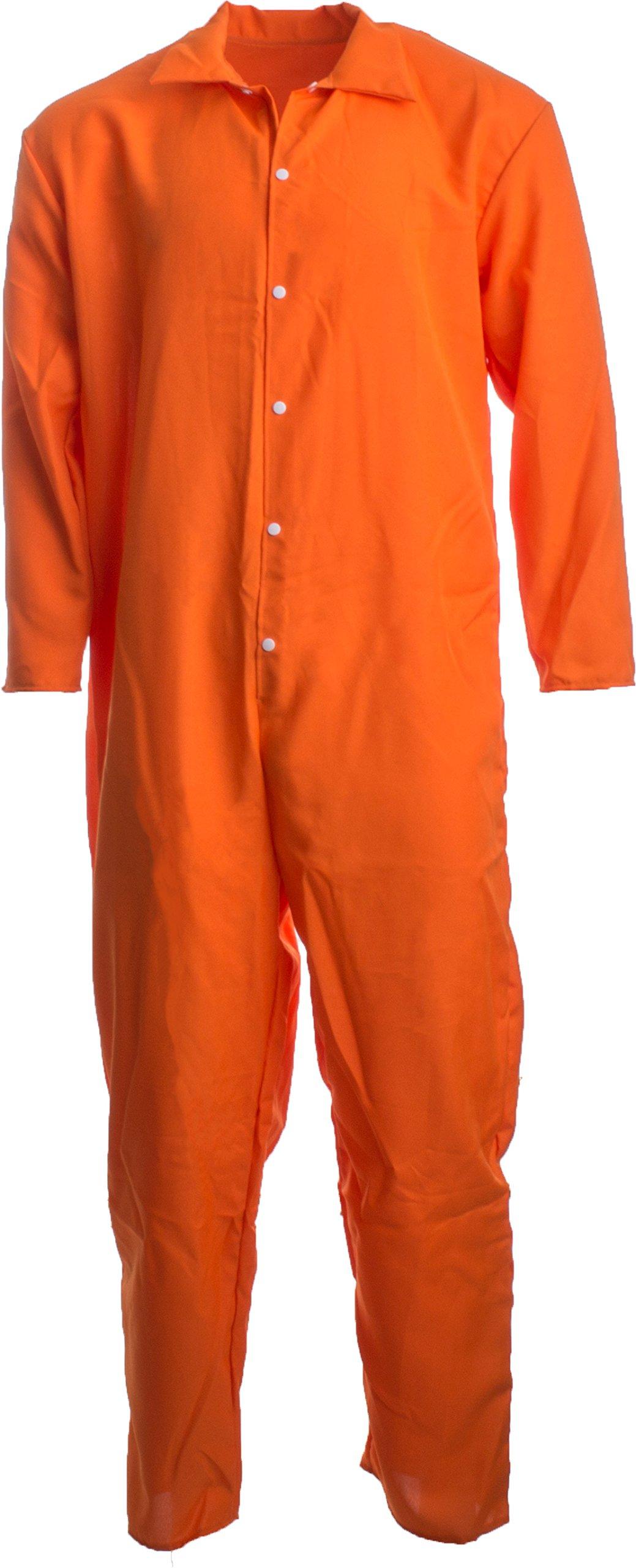 Ann Arbor T Shirt Co Prisoner Jumpsuit Orange Prison
