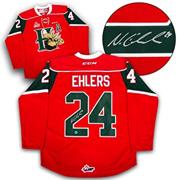 f8af8ffb4 Nikolaj Ehlers Autographed Jersey - Halifax Mooseheads CHL CCM -  Autographed NHL Jerseys  Amazon.ca  Sports   Outdoors