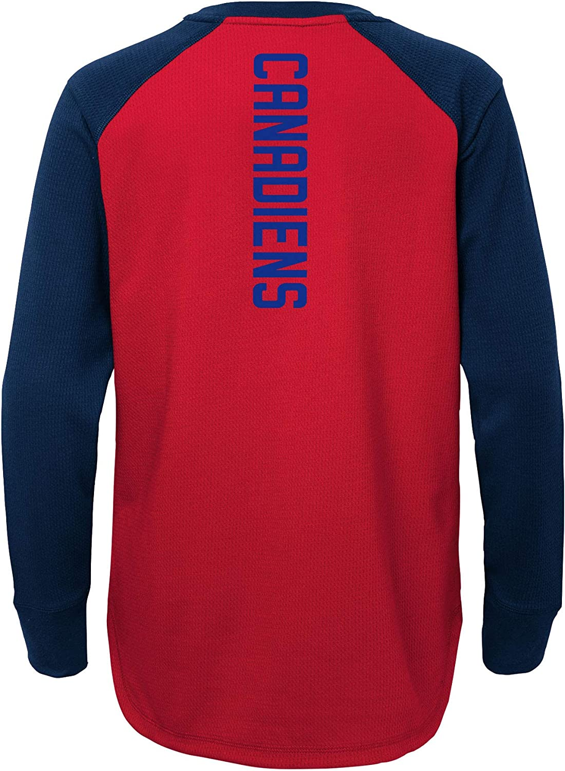 Youth Montreal Canadiens Undisputed Long Sleeve T-Shirt