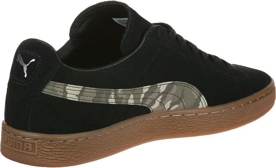 PUMA Suede Classic Camo S Schuhe Black