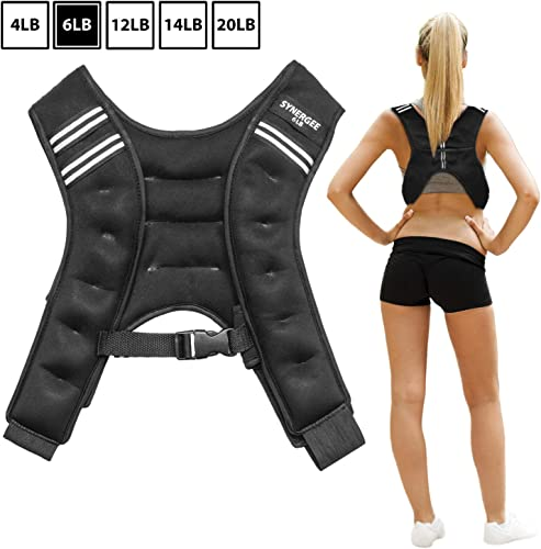 Synergee Weighted Vest Infinity Vest Workout Equipment