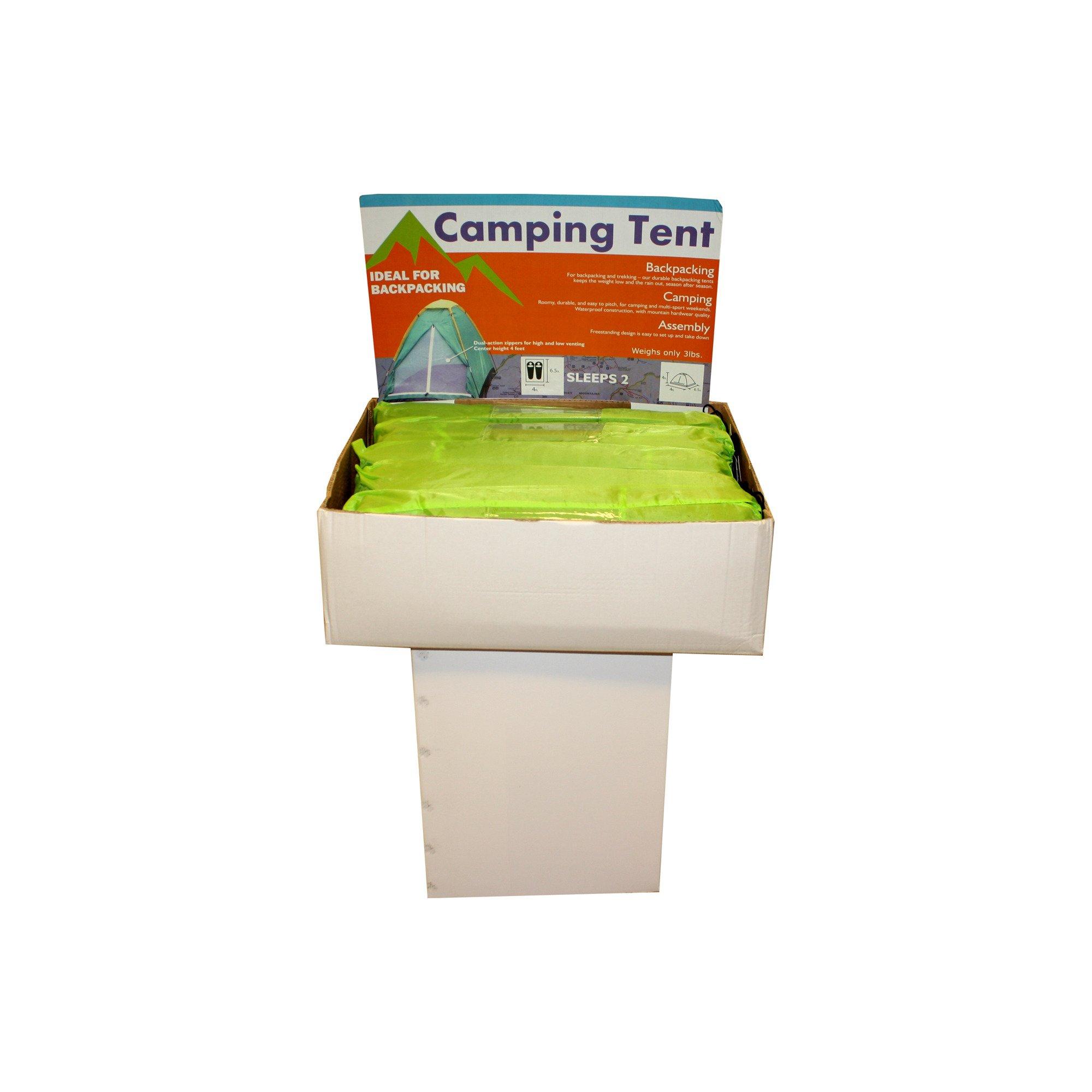 Kole Imports OB396 Backpacking Tent Display