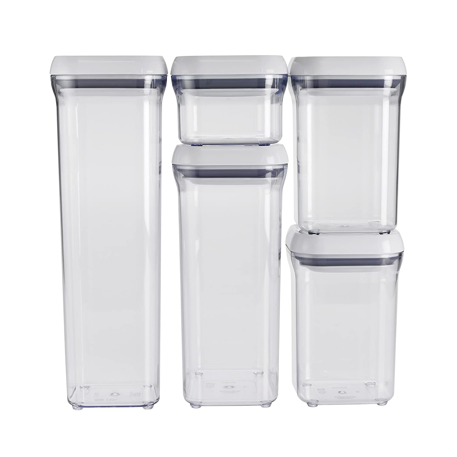 kitchen containers for sale amazoncom oxo good grips  piece pop container set kitchen storage and organization product sets kitchen amp dining