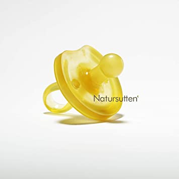 Newborn Natural Rubber Pacifier BPA Free Orthodontic Nipple Small 0-6 Months