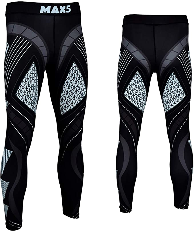 Men boys Compression Legggings Athletic Sports Pants for mens Tights boxing mma