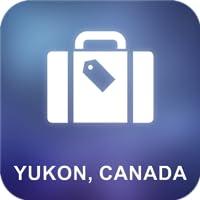 Yukon, Canada Offline Map